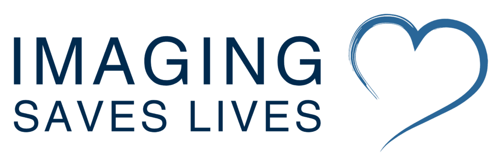 Imaging Saves Lives blue icon